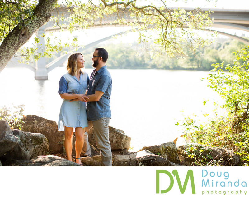 Folsom Lake Engagement Photographers