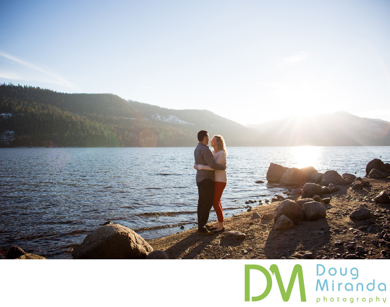 Donner Lake Engagement Photographers