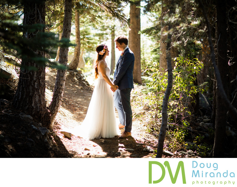 Wedding photography at Sugar Bowl