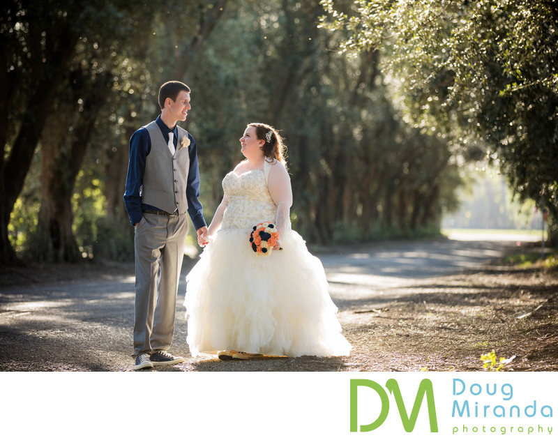 Wedding photography at The Maples Woodland