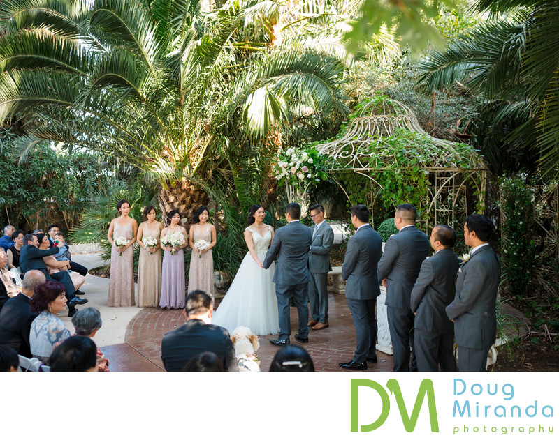 Best Wedding Ceremony Photos at Grand Island Mansion