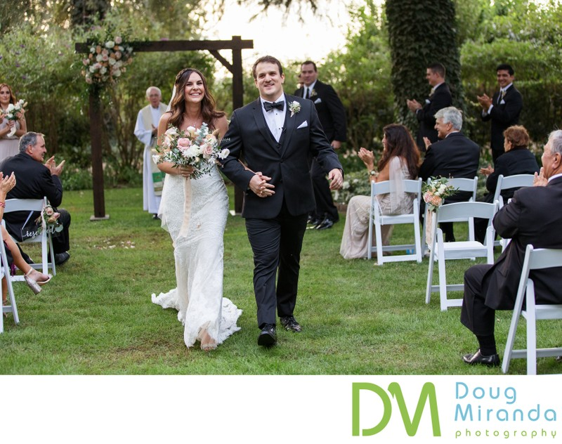 Durst Winery Wedding Ceremony Photography