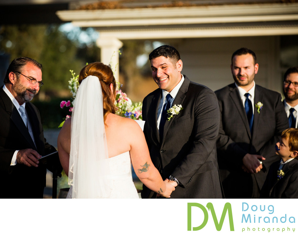 Delta Diamond Farm Wedding Ceremony Pictures