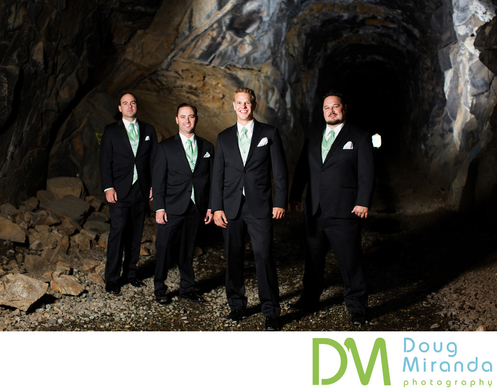 Donner Pass Wedding Train Tunnel Photos