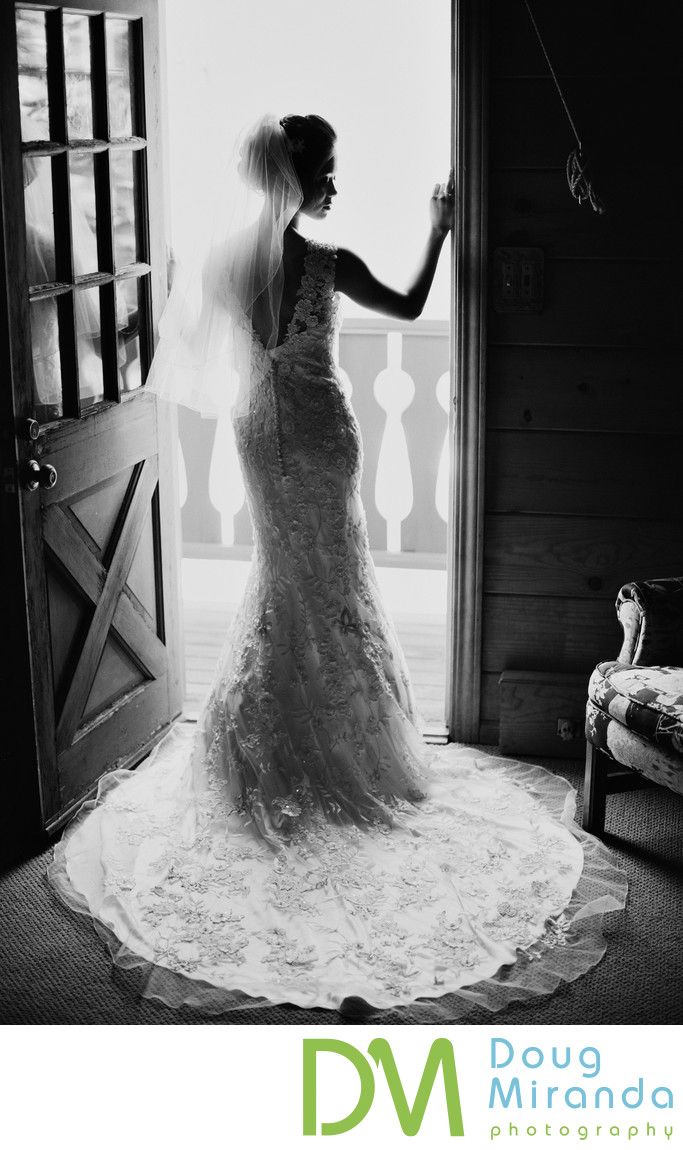 Tahoe Mountain Home Wedding Photography