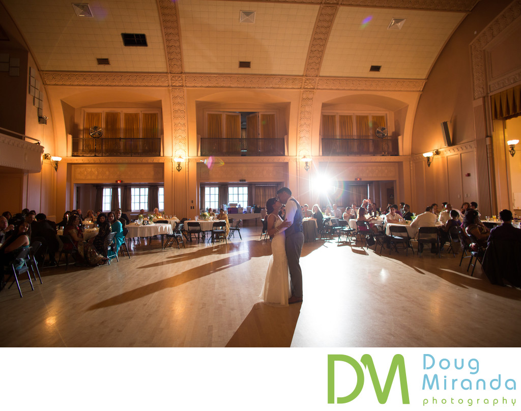 Sacramento Masonic Temple Wedding