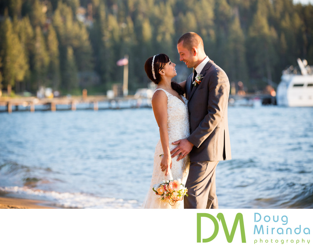 Wedding Photography at Zephyr Cove Resort