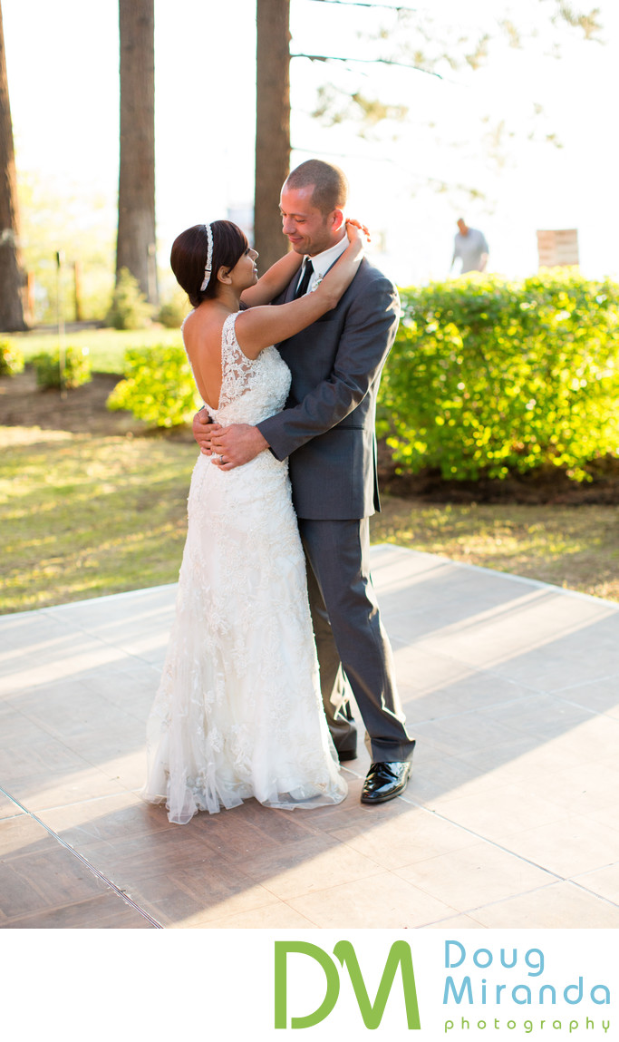 Frist Dance Wedding Photos at Zephyr Cove Resort