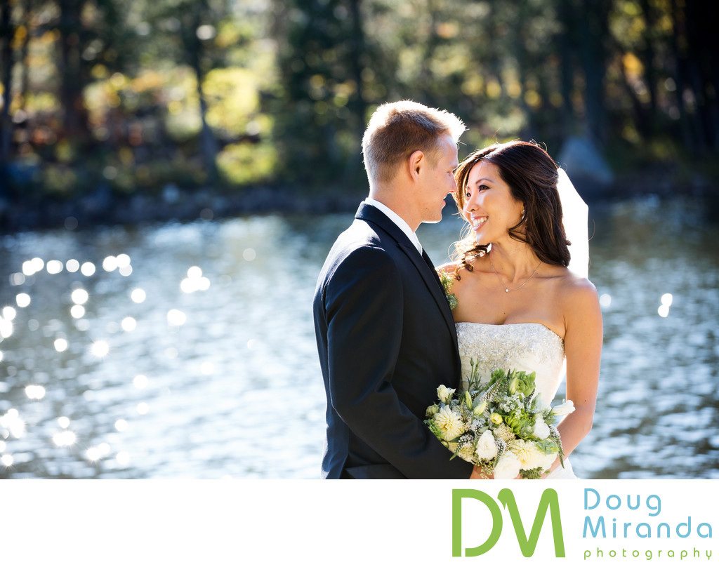 Sugar Bowl Resort Lake Mary Bride and Groom Pictures
