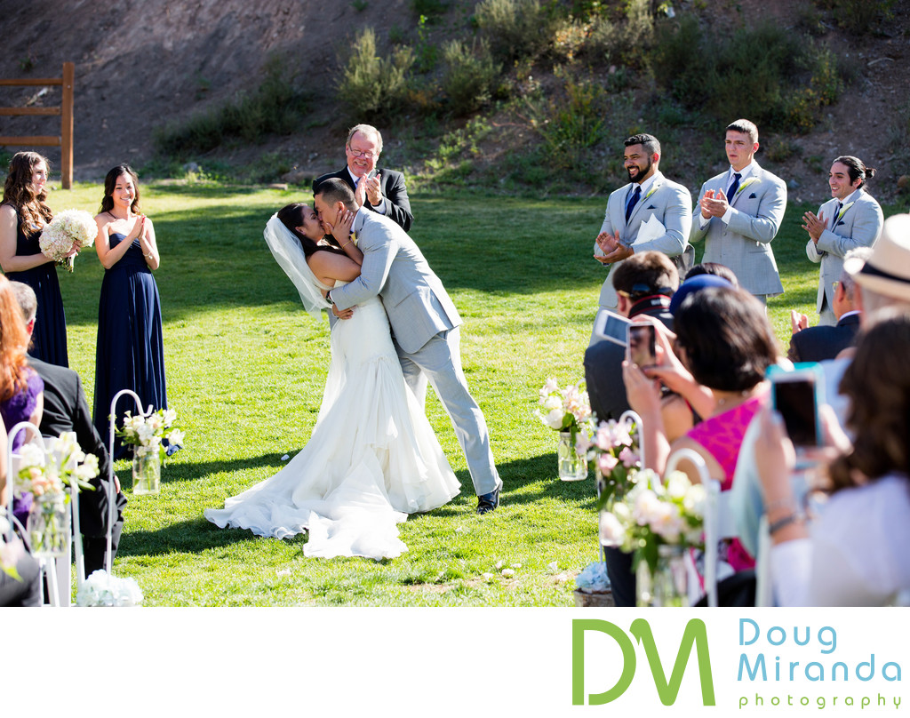Wedding Ceremony Pictures at Northstar Resort