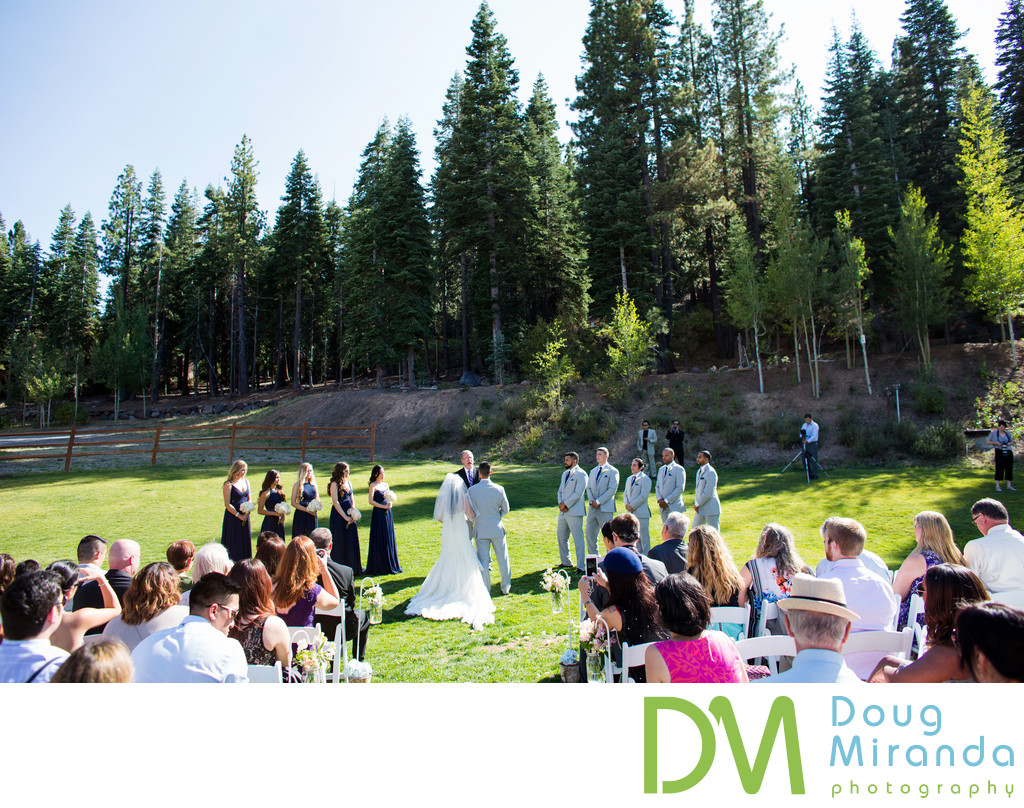 Northstar Resort Wedding Ceremony Photographer
