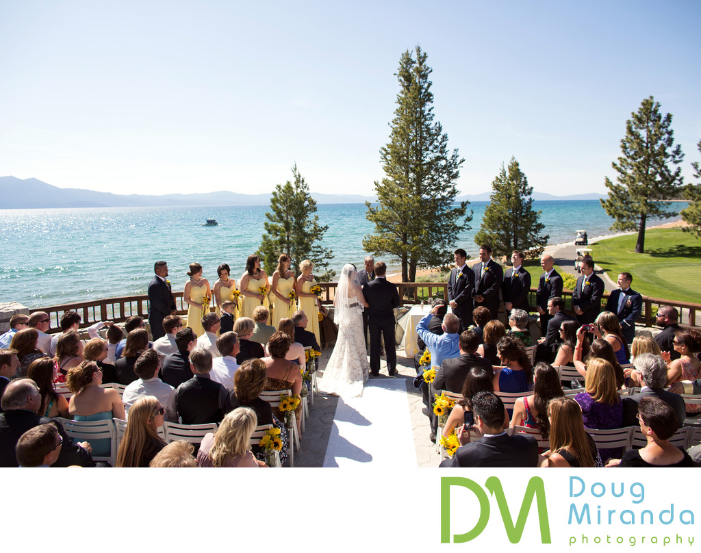Edgewood Tahoe Wedding Ceremony