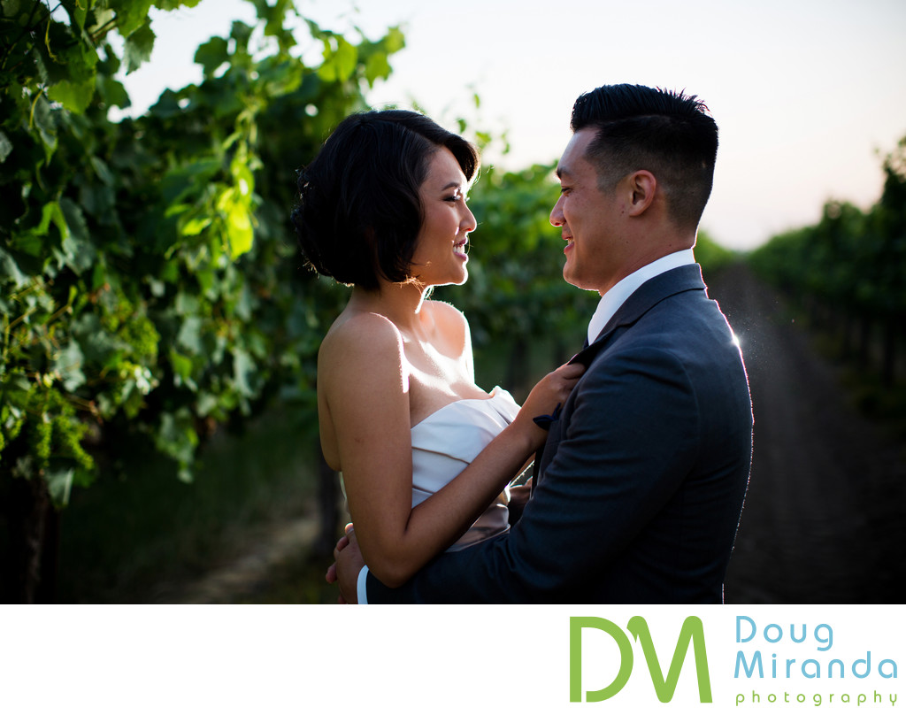 Sacramento Vineyard Wedding Photography