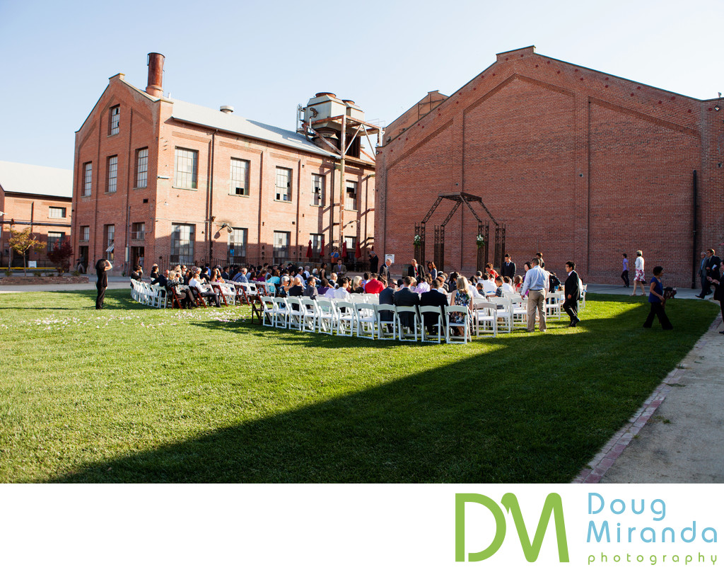 Outdoor Wedding Ceremony at Old Sugar Mill