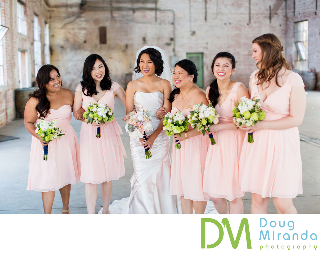 Bridesmaids Photos at Old Sugar Mill