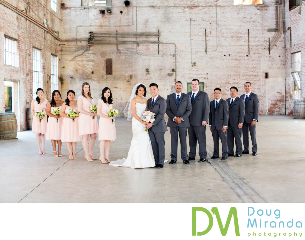Old Sugar Mill Wedding Bridal Party Photos