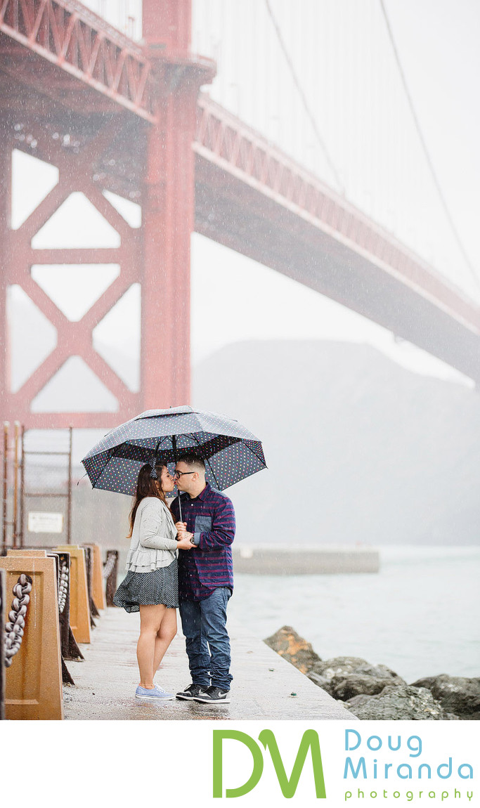 Fort Point Engagement Photographer
