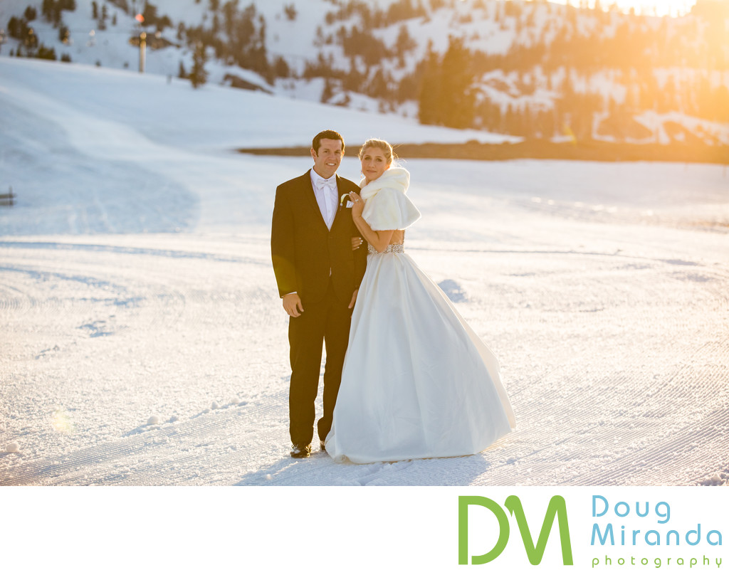 Wedding Photos at Squaw Valley High Camp