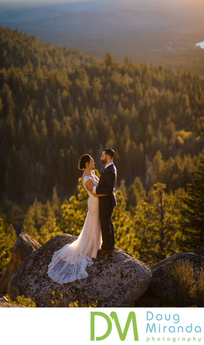 Tahoe Blue Estate Wedding Photographer