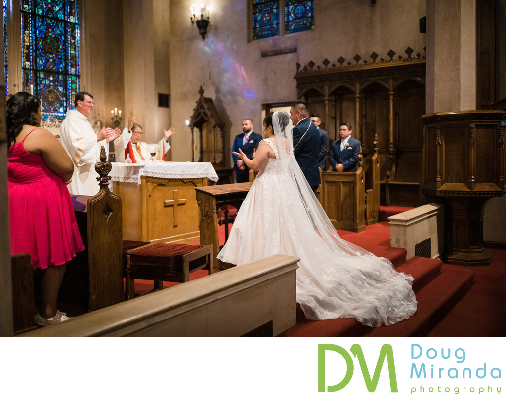 Morris Chapel Wedding Ceremony Photos
