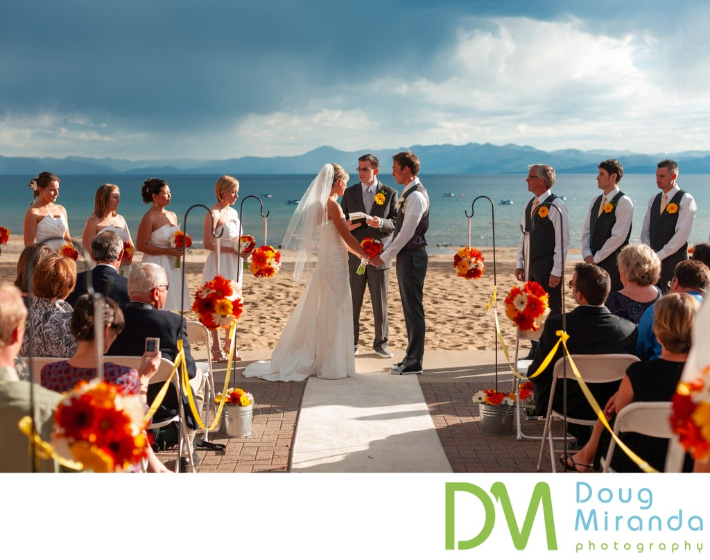 North Tahoe Event Center Wedding Photos