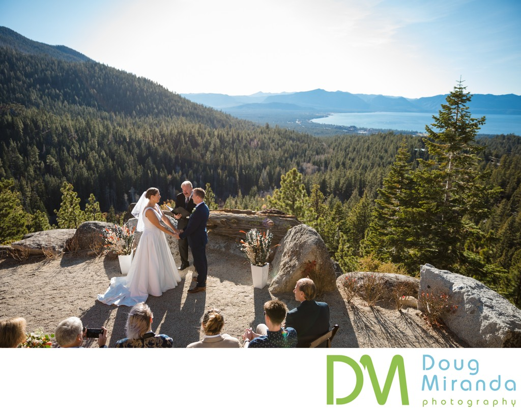 Tahoe Blue Estate Ceremony Photos