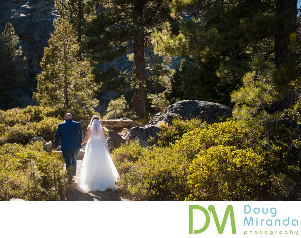 Tahoe Basin Elopement Photographs