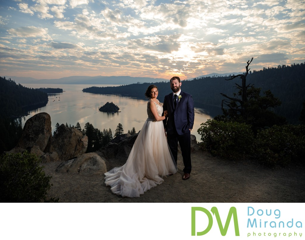 Emerald Bay Lake Tahoe Elopement Photos