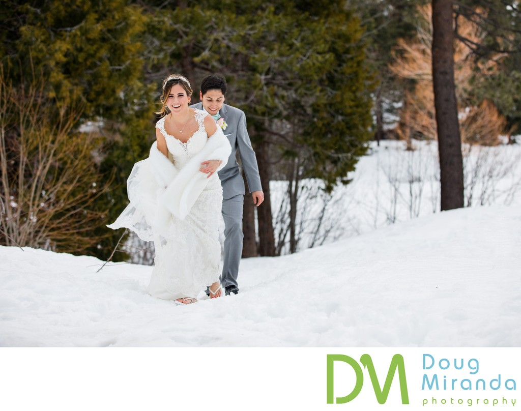 Winter Wedding Chateau at Incline Village