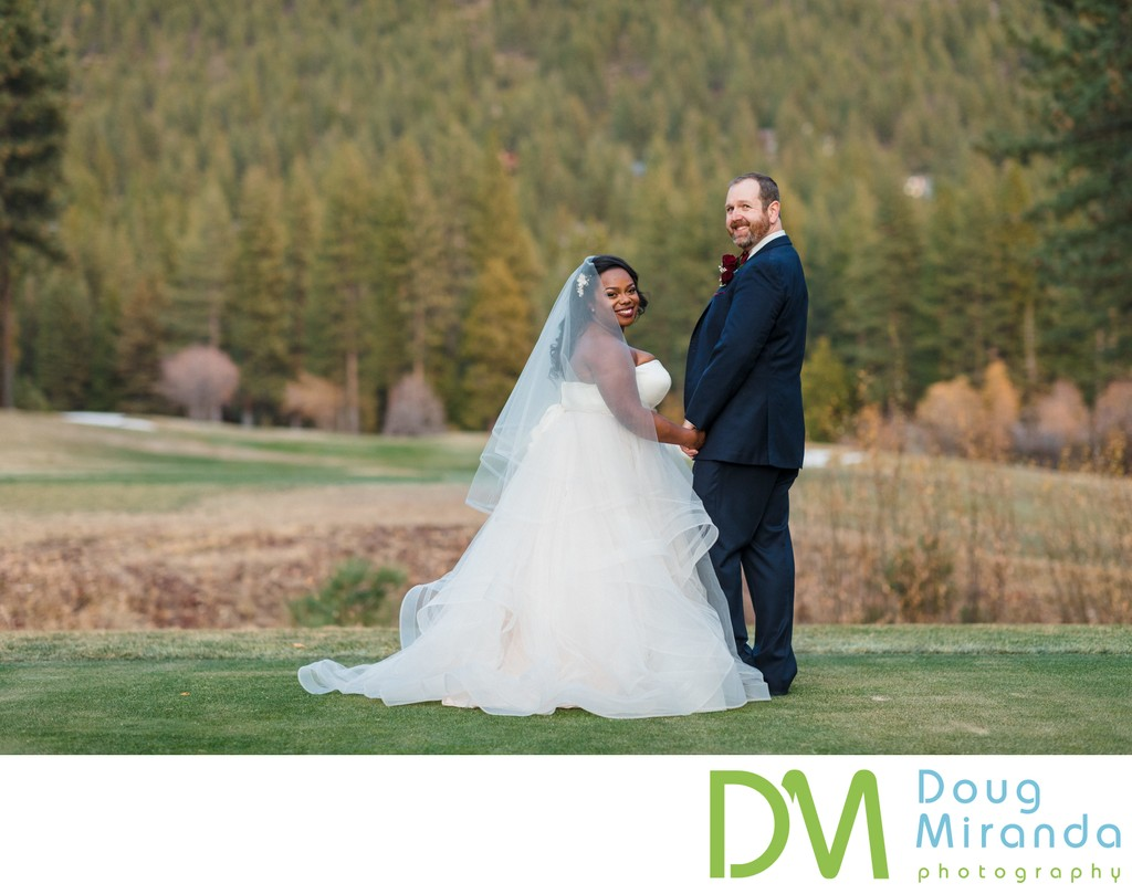 Golf Course Chateau at Incline Village Wedding Images