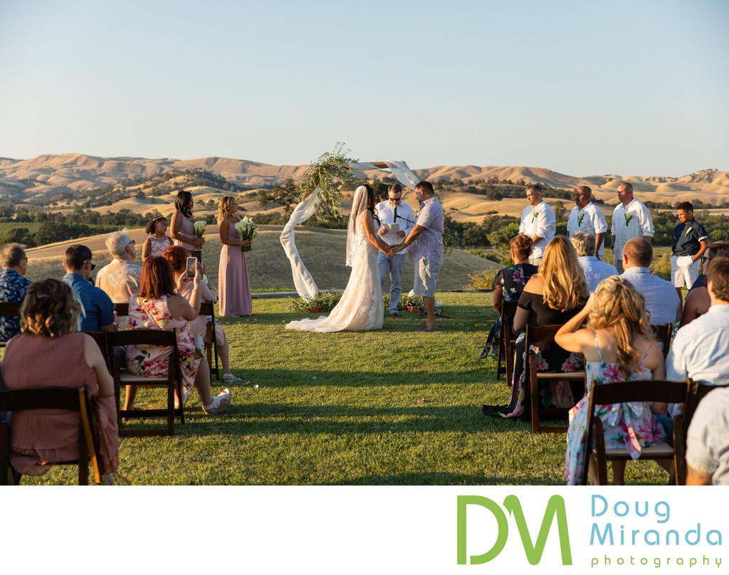 Taber Ranch Vineyard and Event Center Wedding Ceremony