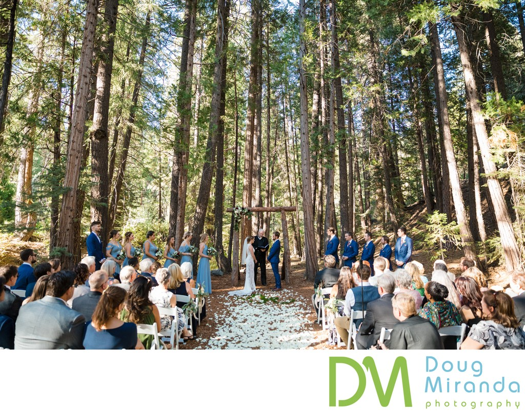 Twenty Mile House Wedding Ceremony