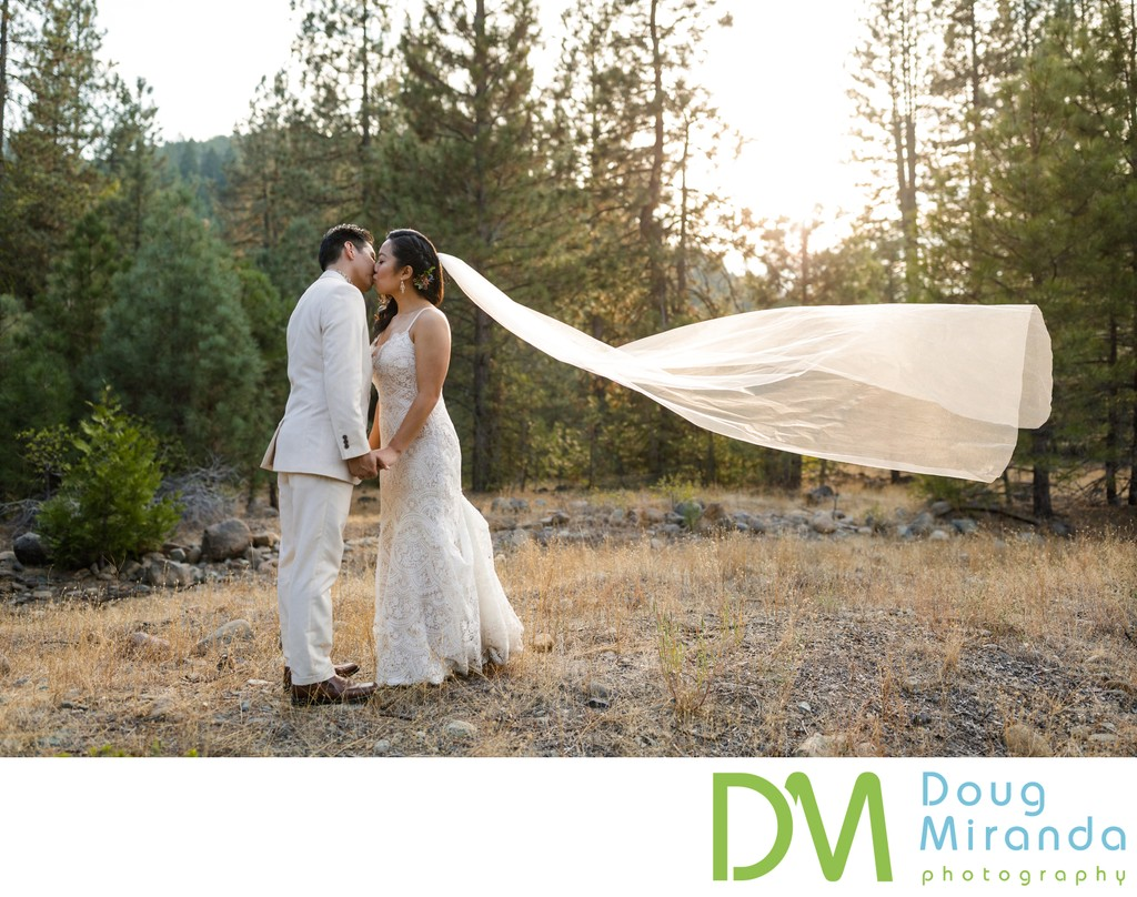Twenty Mile House Wedding Sunset Photos