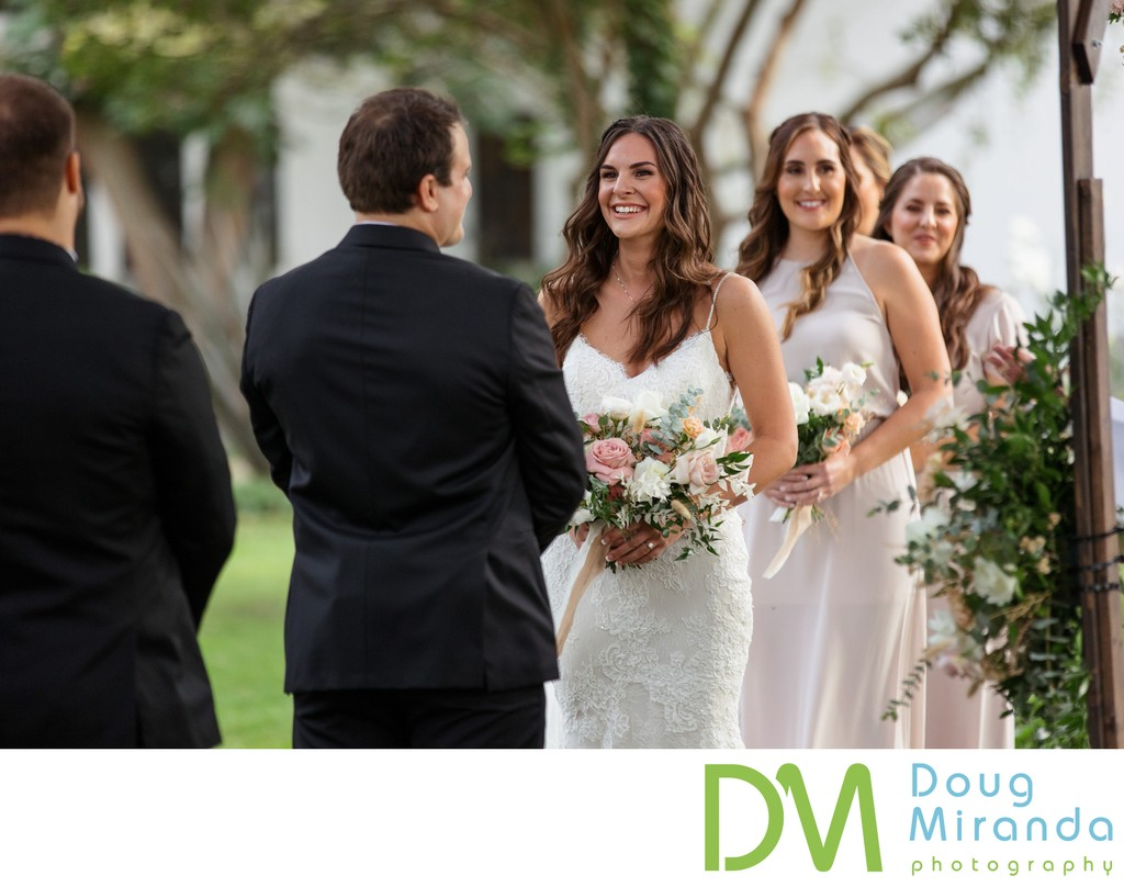 Durst Winery Wedding Ceremony Photos