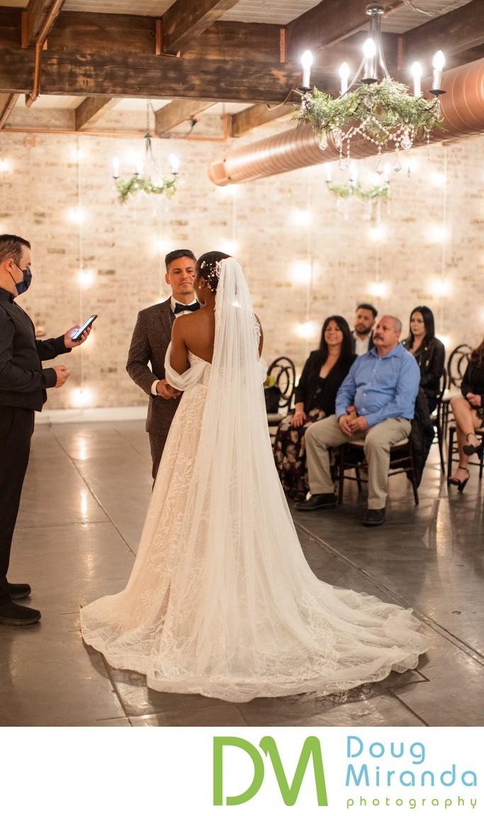 The Century Modesto Wedding Ceremony Alcove Photography