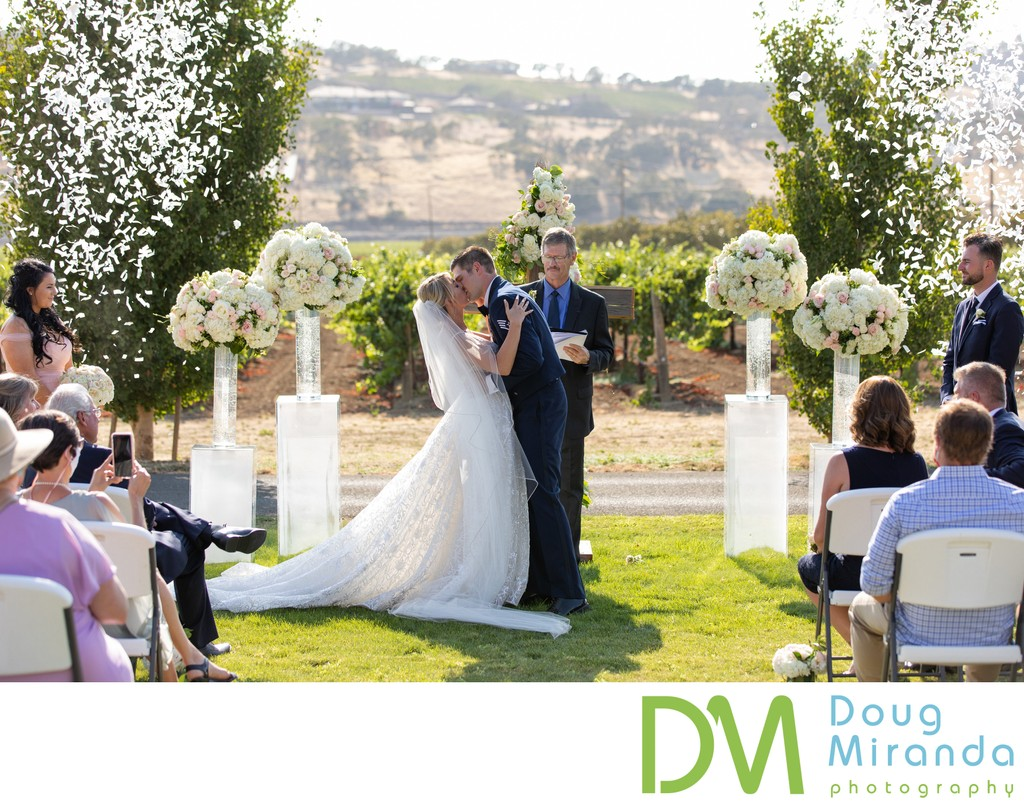 Suisun Valley Inn Wedding Ceremony Photos