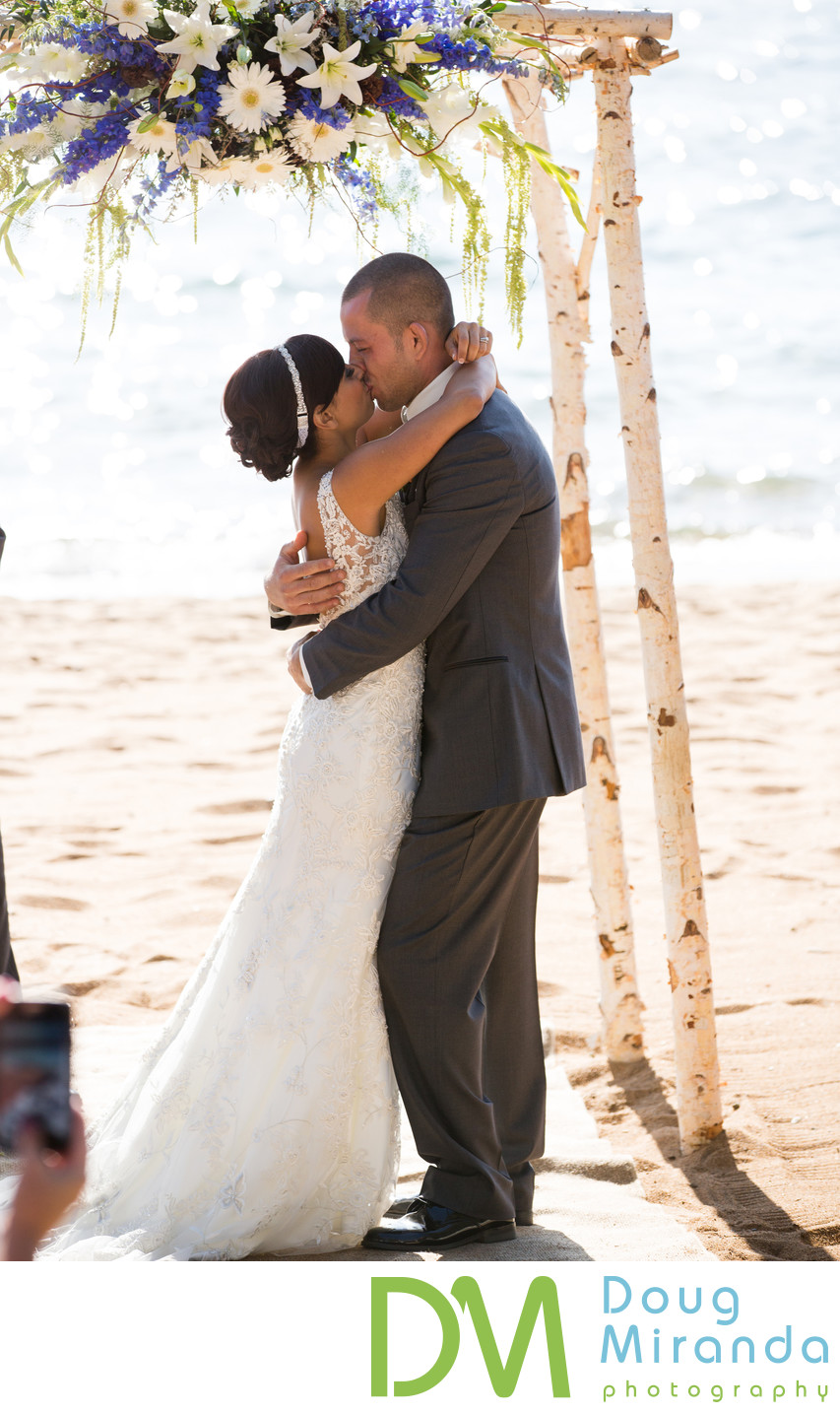 Zephyr Cove Resort Wedding Ceremony Photographs