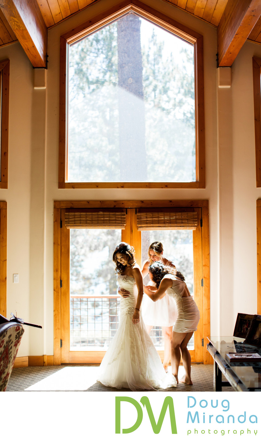 Wedding Pictures at Donner Lake Truckee CA