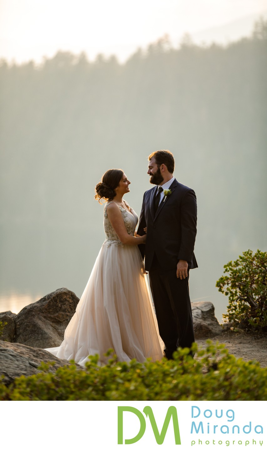 Emerald Bay Lake Tahoe Elopement Photography