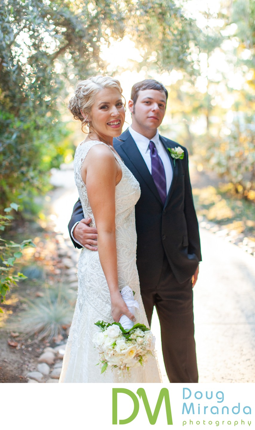 Wine and Roses Wedding Photos