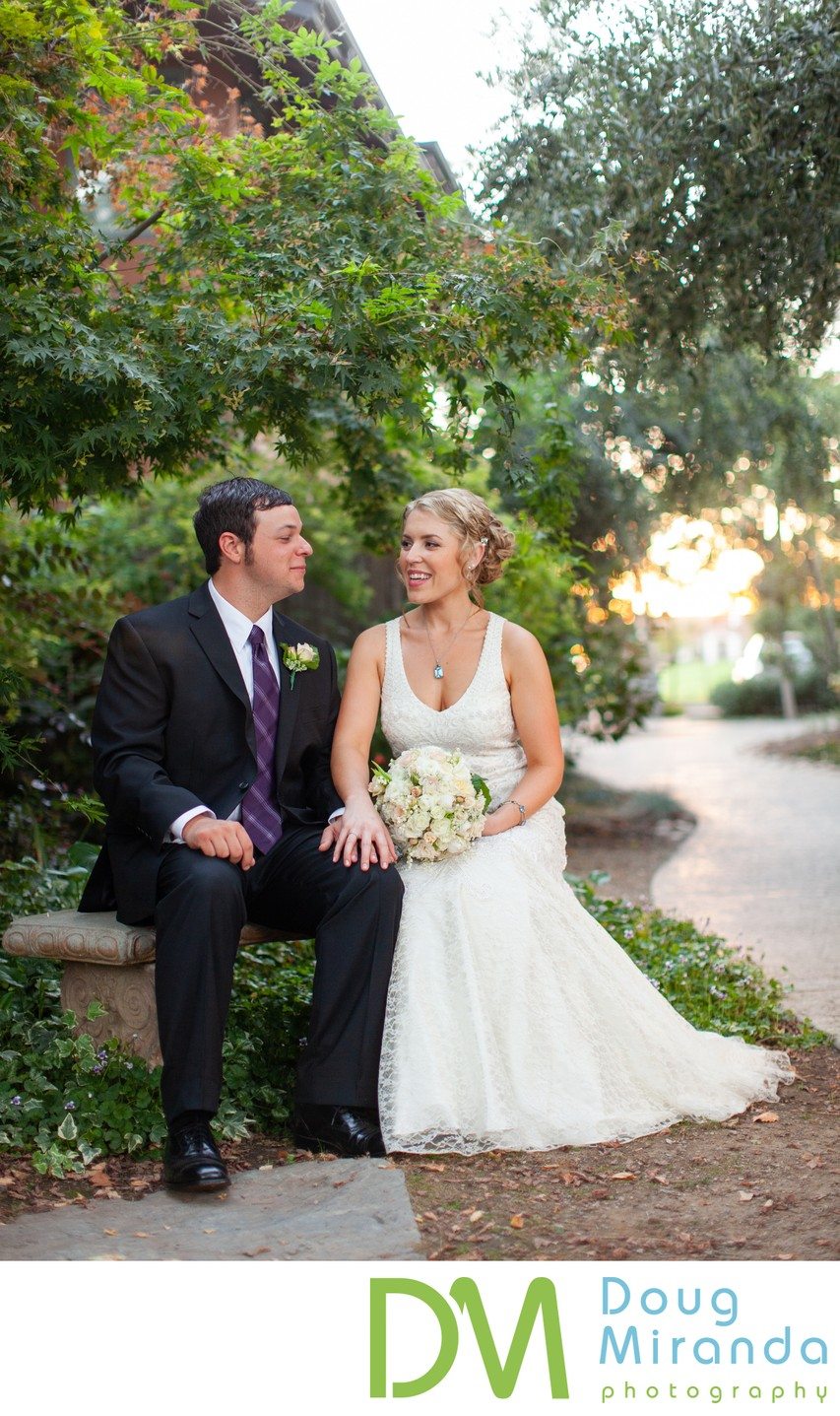 Wine and Roses Wedding Portraits