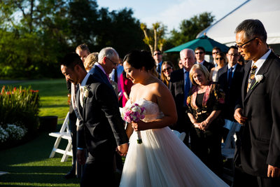 Haggin Oaks Golf Course Wedding Ceremony Pictures