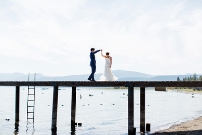 Skylandia Beach Park Wedding Lake Tahoe