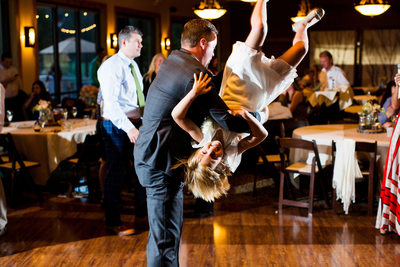 Lake Tahoe Golf Course Wedding Reception