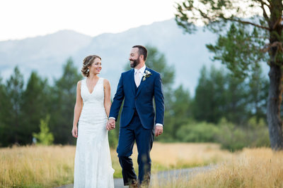 Lake Tahoe Golf Course Wedding Photography