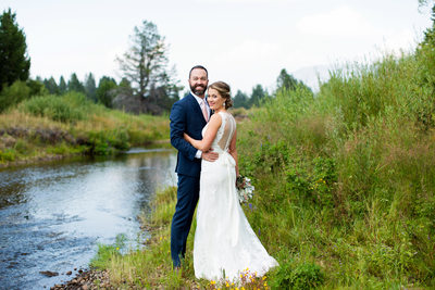 Wedding photos at Lake Tahoe Golf Course