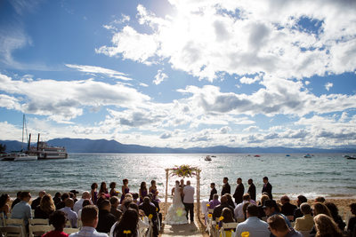 Beach Weddings in South Lake Tahoe