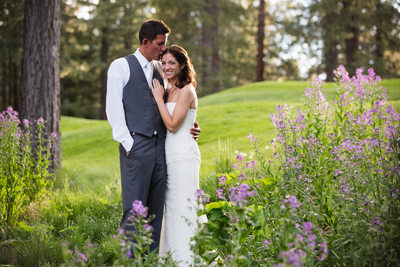 Tahoe Donner Lodge Wedding Photographer