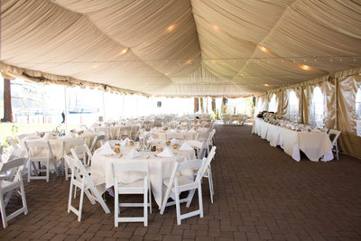 Zephyr Cove Resort Wedding Reception Tent Photos