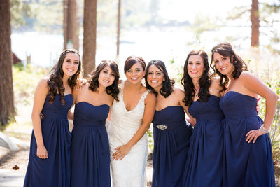 Bridesmaids Pictures at Zephyr Cove Resort Lake Tahoe